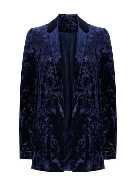 Wallis Crushed Velvet Jacket