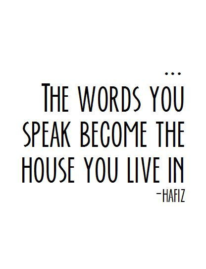 Hafiz Quote about authenticity, The business of being you blog, The Image Tree