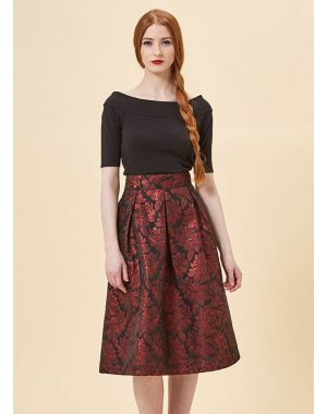 Jacquard skirt, Its party time. Are you outfit ready?, the image tree blog