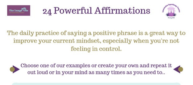 24 Powerful affirmations, how to create powerful affirmations in 5 easy steps, the image tree blog