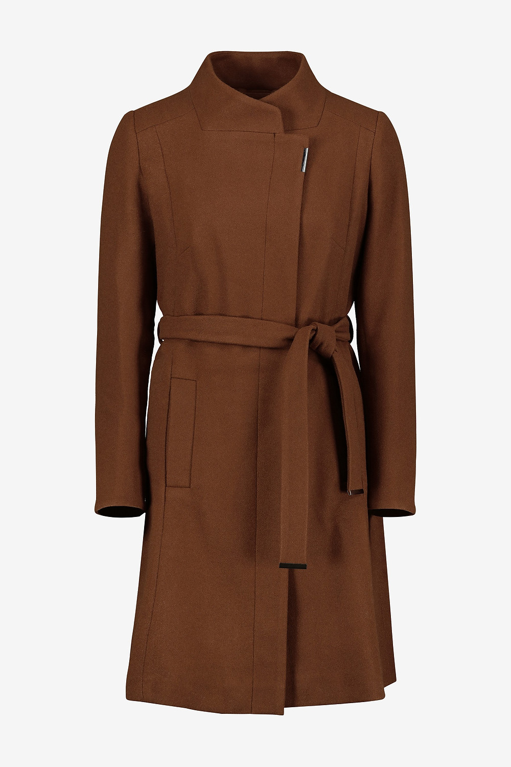 Next Tobacco Belted Wrap Coat The Winter Coat, A practical buying guide, The Image Tree blog