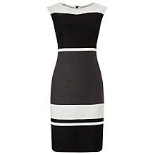 Monochrome Colour Blocked Dress