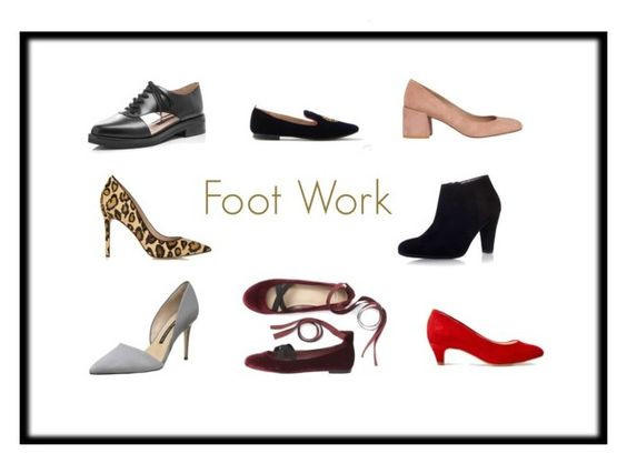 Get Workwear Savvy, Footwork, Shoes, The Image Tree Blog