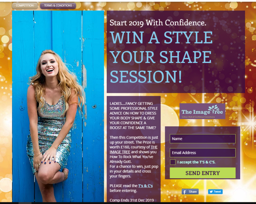 Win a Style Your Shape Session with  The Image Tree