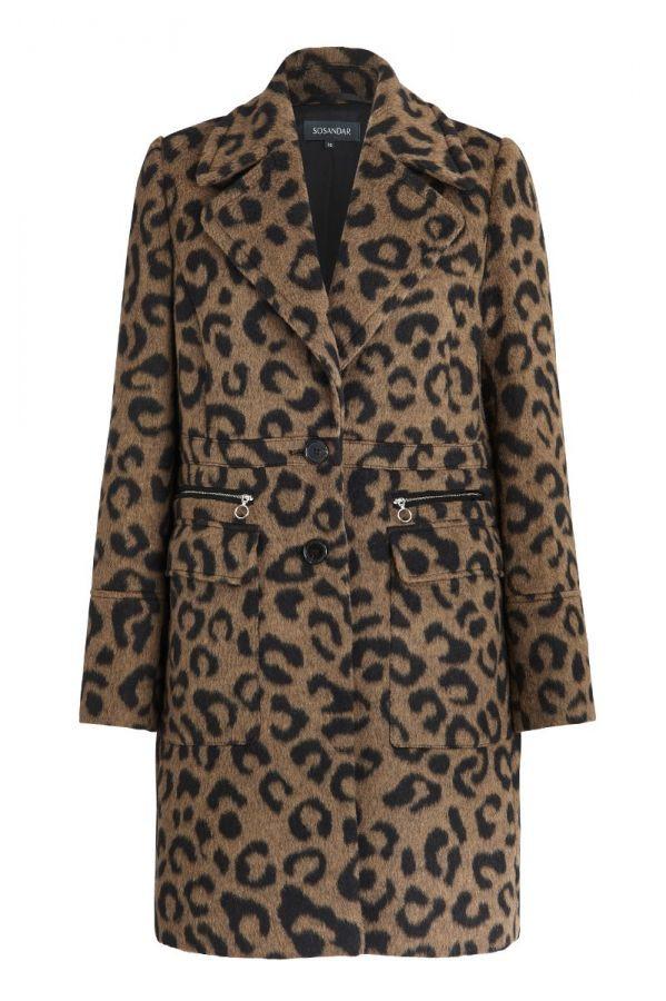 Leopard Print Wool Mix Coat Sosandar, The Winter Coat, A Practical Buying Guide, The Image Tree Blog
