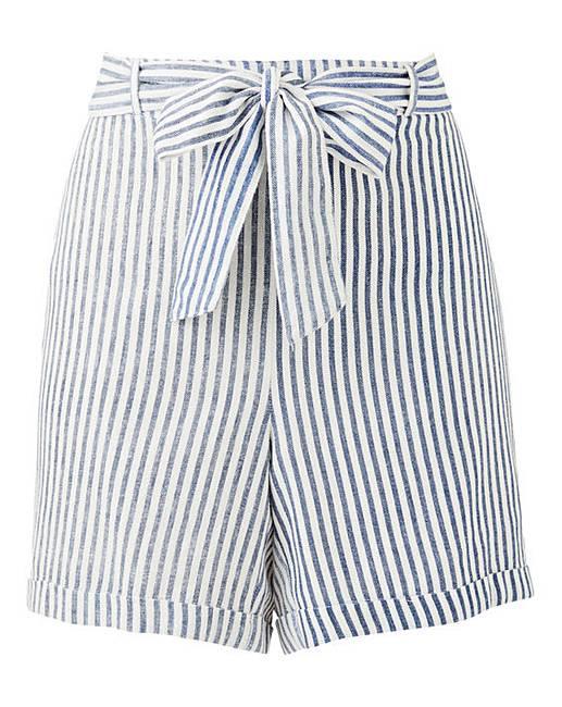 Marisota Cotton Stripe Shorts