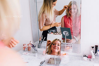 Sara fromThe Image Tree and Sophie Downing Make Up Artist