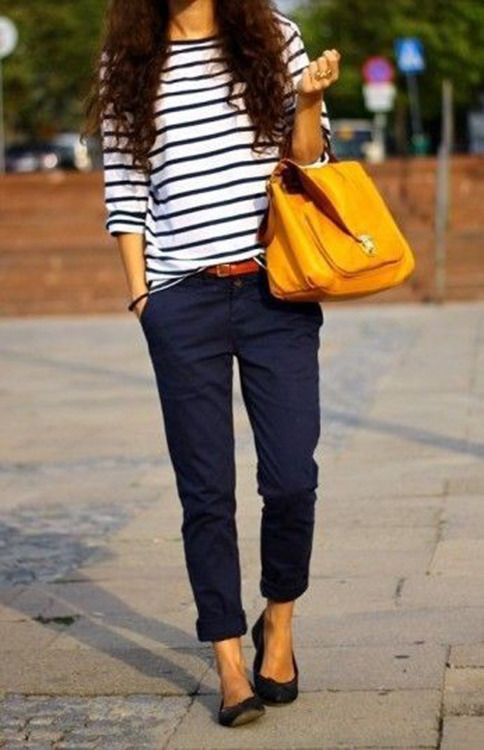 Blue and Yellow Outift