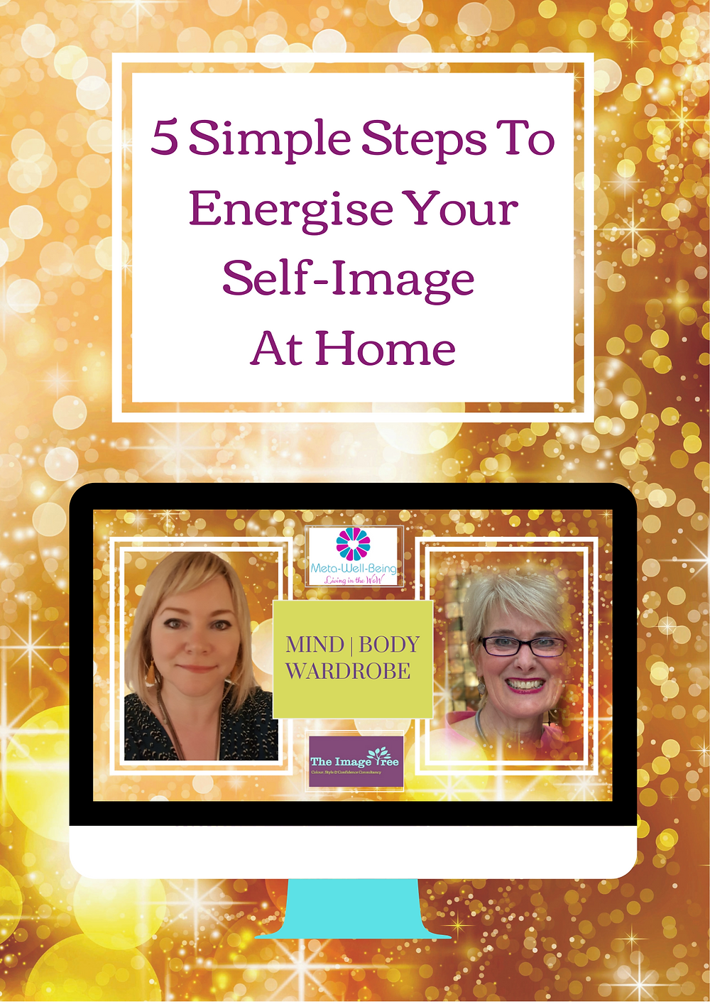 ECourse 5 Simple Steps To Energise Your Self Image At home, The Image Tree Blog