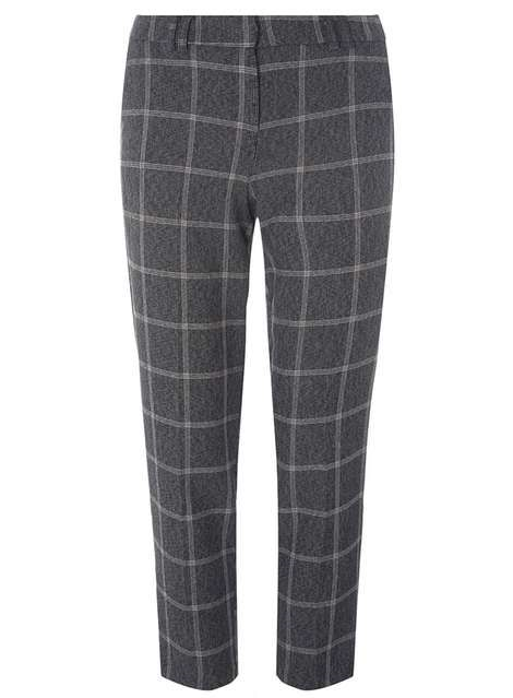 Dorothy Perkins Grey Check Trousers