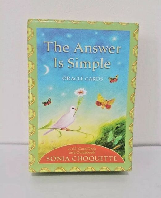 The Answer is Simple Oracle Cards. My 5 Daily do's to a happier you, The Image Tree Blog