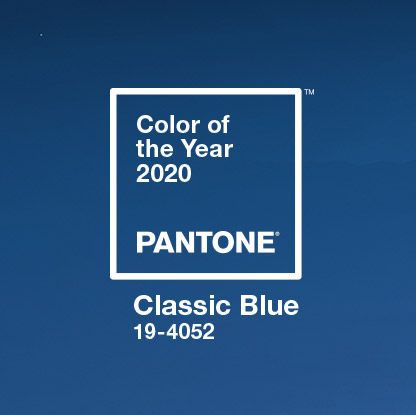 Classic Blue, Wearable Trends for Spring, Summer 2020, The Image Tree Blog