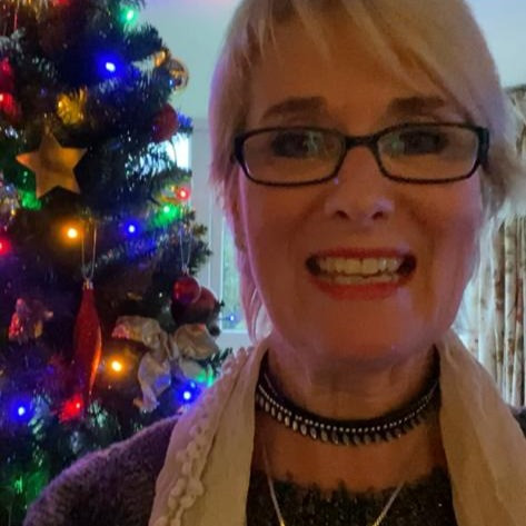 Susan Gardner at Xmas, How to have a happy, healthy meta Christmas, The Image Tree Blog