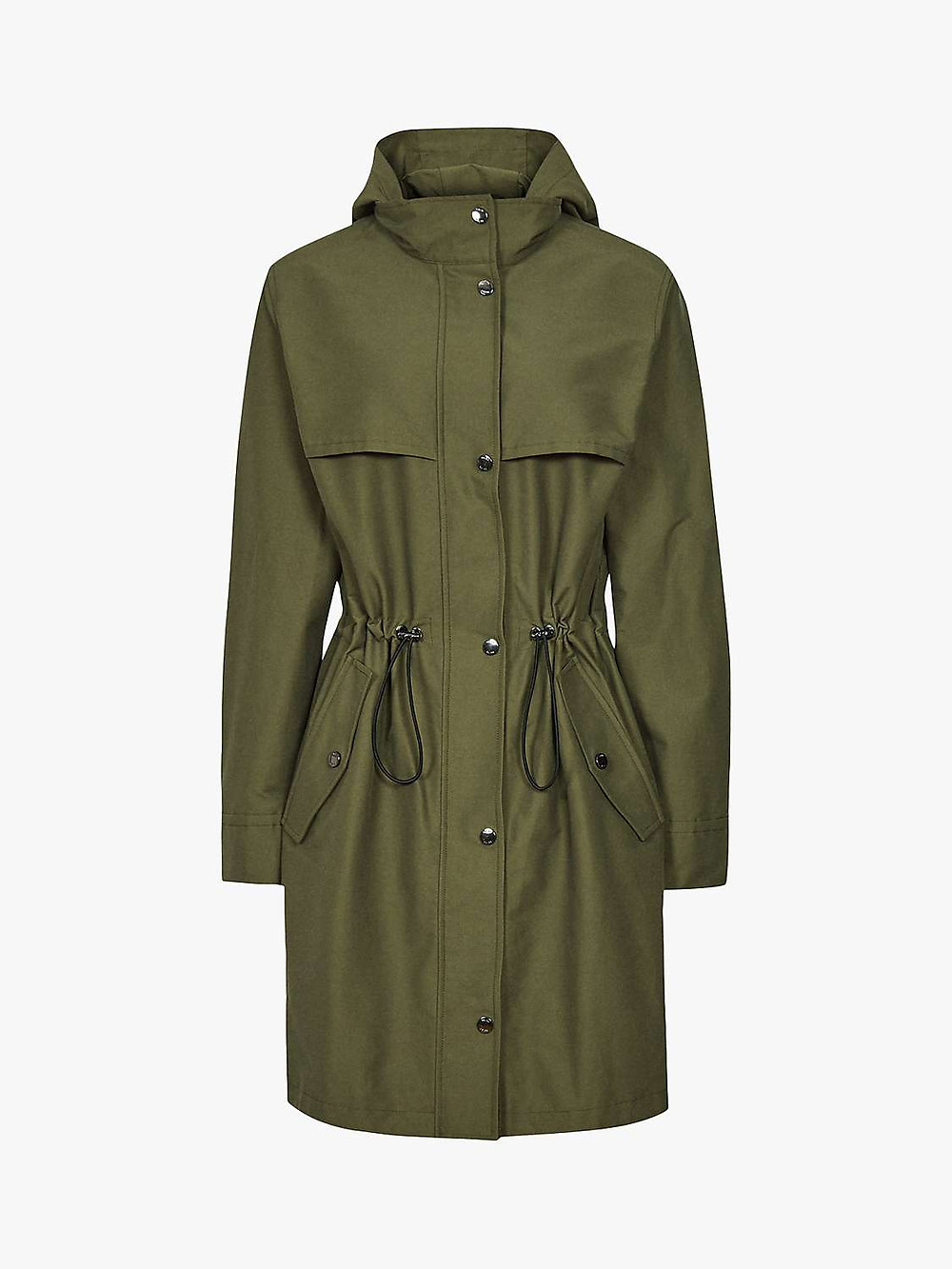 Reiss Lightweight Khaki Parka, The Winter Coat, A Practical Buying Guide, The Image Tree Blog