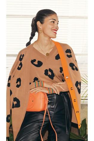 Printed Cardigan trend, my savvy fashion picks for autumn winter 2020, the iimage tree blog