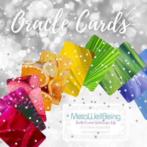 Metawellbeing, Mini Oracle Cards, Power Pack