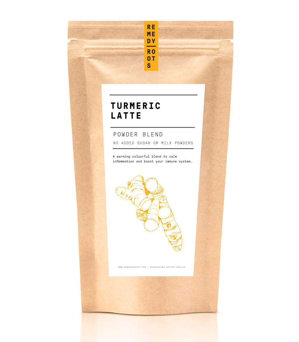 Turmeric Latte Mix, Remedy Roots, My 5 Daily Do's For a happier you, The Image Tree blog