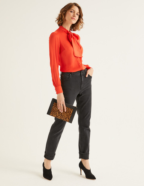 Bright orange blouse, Its party time. Are you outfit ready?. the image tree blog