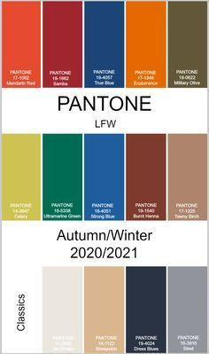 Pantone Fall 2020 Colours,My Savvy Fashion Picks For Autumn/Winter 2020,The Image Tree Blog