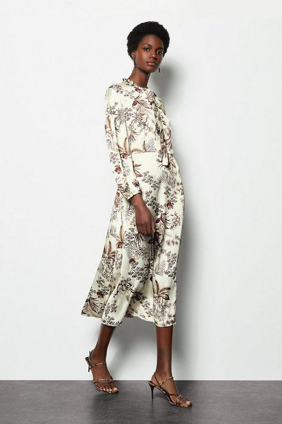 The Floral dress, The wearable guide to spring summer trends 2020, the image tree