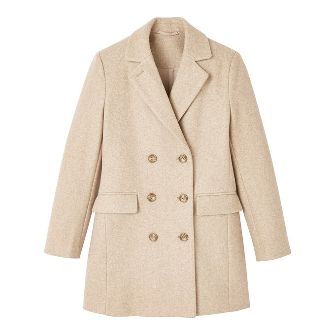 La Redoute Beige Marl Coat, The Winter Coat, A practical buying guide, The Image tree blog