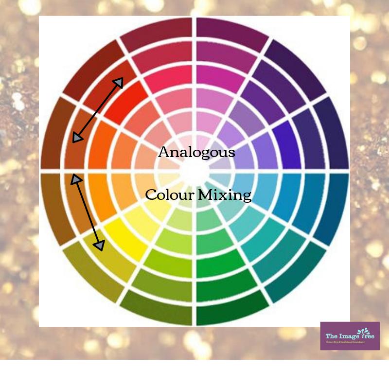Analogous Colour Mixing; The Image Tree