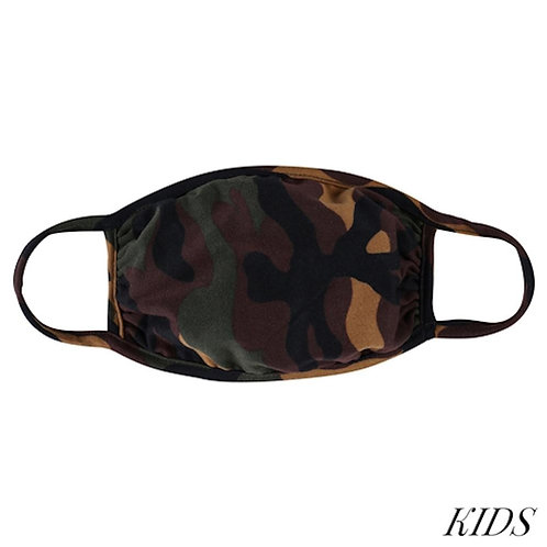 Kid's Camo Mask