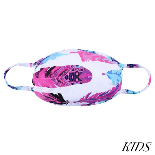 Kid's Feather Mask