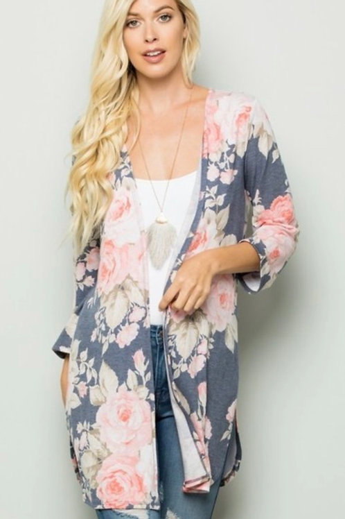 Florence Floral Cardigan