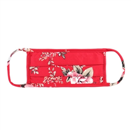 Red Floral Mask WS