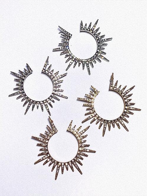 Sunburst Earrings WS