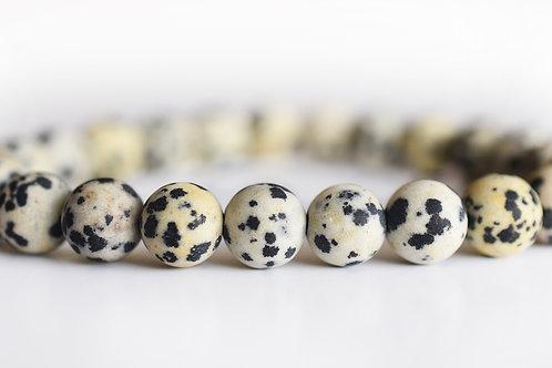 Dalmatian Jasper Bracelet