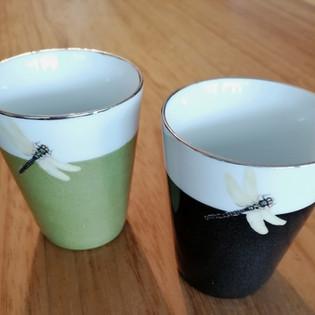 Gobelets porcelaine de Limoges