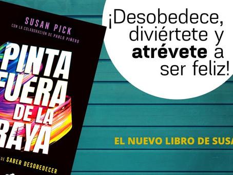 """""""Pinta fuera de la raya""""… el libro"""