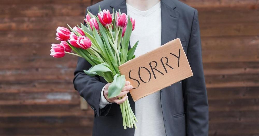 El arte de saber pedir perdón