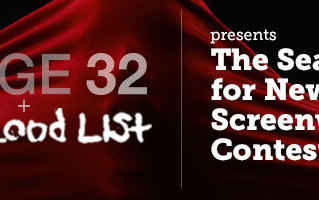 "QUARTER FINALIST IN STAGE32.COM'S ""THE BLOOD LIST"""