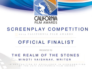 WINNER AND OFFICIAL FINALIST AT THE CALIFORNIA FILM AWARDS