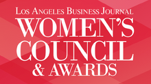 NOMINATED FOR A LOS ANGELES BUSINESS JOURNAL WOMEN'S COUNCIL AWARD