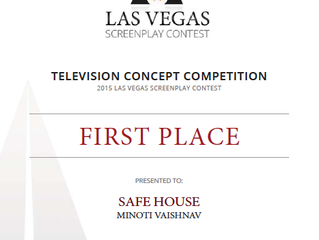 """SAFE HOUSE"" WINS BEST TV CONCEPT AWARD AT THE LAS VEGAS SCREENPLAY CONTEST"