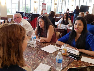 CHECK OUT PHOTOS FROM ALLIANCE FOR WOMEN IN MEDIA'S SPEED MENTORING EVENT AT CBS RADFORD