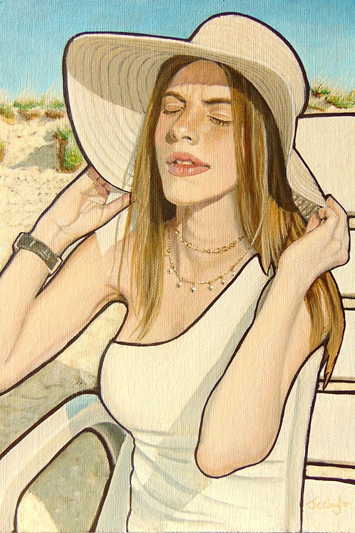 Girl In Sun