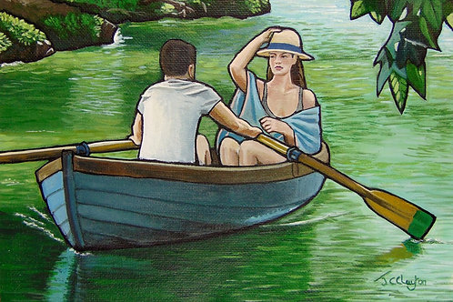 Rowing The River Cherwell