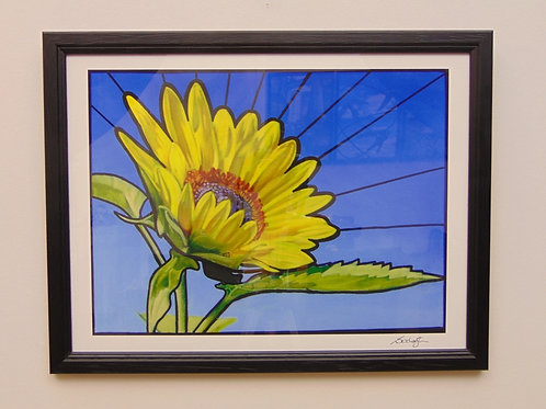 SUNFLOWER - COLLECTOR PRINT