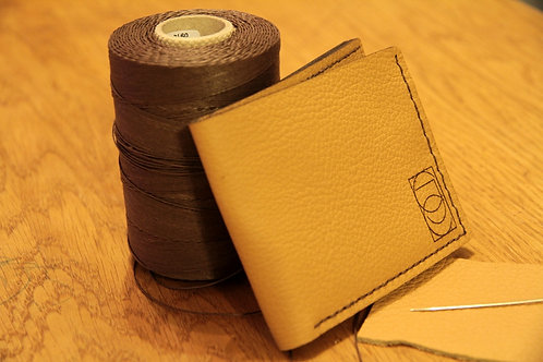 VEGTAN LEATHER BIFOLD WALLET