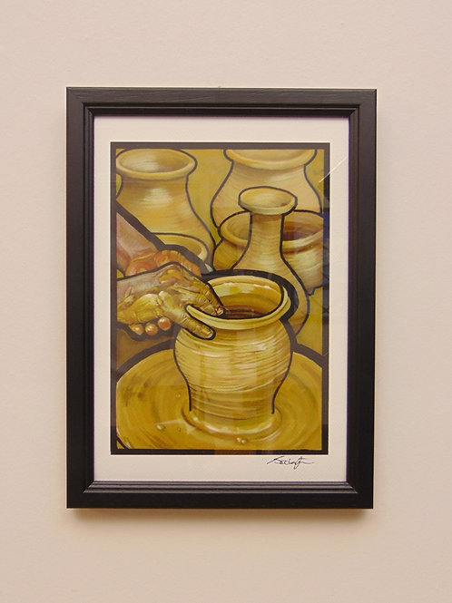 POTTERS WHEEL - COLLECTOR PRINT