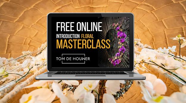 Free Online Floral Masterclass+laptop+vi