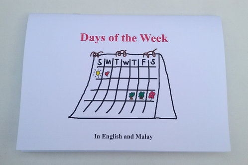 Days of the Week (English / Malay)