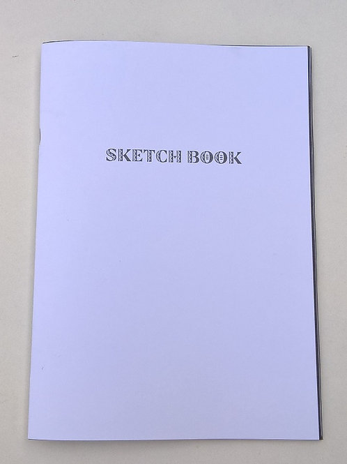 Sketch Book with Carbon Paper