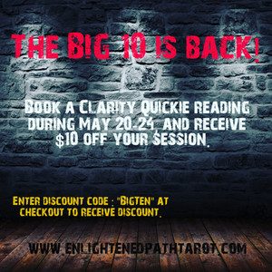 $10 off the Clarity Quickie!