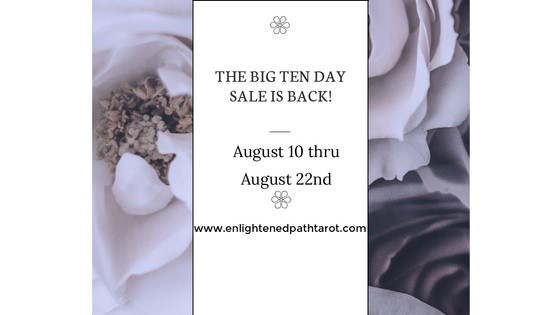 Big 10 Sale! $10 off for 10 days!!